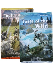 Taste of the Wild High Prairie Puppy 12,2 kg + Pacific Puppy 12,2 kg