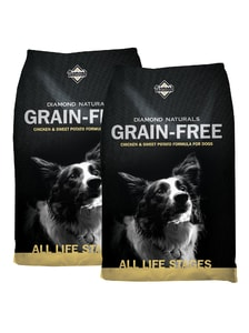 Diamond Naturals Grain-Free Chicken & Sweet Potato 2 x 12,7 kg