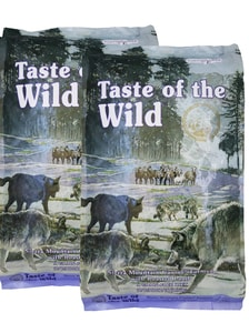 Taste of the Wild Sierra Mountain 2 x 12,2  kg