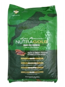 Nutra Gold Grain Free Duck and Sweet Potato 13,6 kg