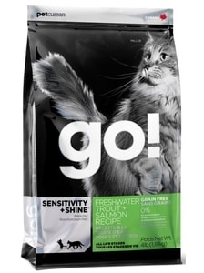 GO! Sensitive Shine Cat Trout + Salmon 1,81 kg