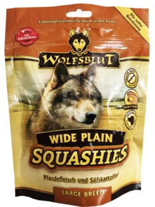 Wolfsblut Squashies Wide Plain Large Breed 300g