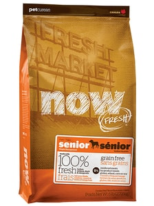 NOW! FRESH Grain Free Senior Dog 11,4 kg SLEVA