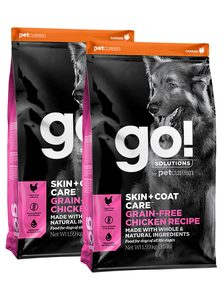 GO! Skin&Coat Chicken Grain Free 2 x 11,4kg