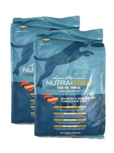 Nutra Gold Grain Free Whitefish and Sweet Potato 2 x 13,6 kg