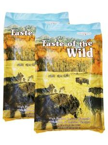 Taste of the Wild High Prairie 2 x 18,14 kg