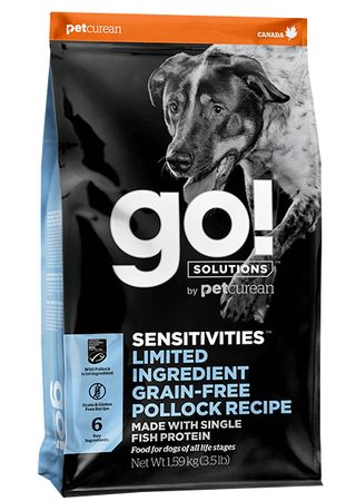Petcurean GO! Sensitivities LID Pollock 10 kg