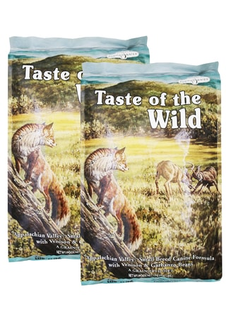 Taste of the Wild Appalachian Valley Small Breed 2 x 13 kg