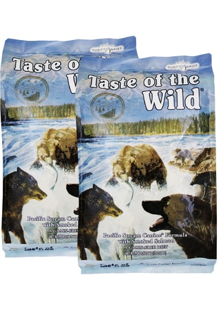 Taste of the Wild Pacific Stream 2 x 13 kg