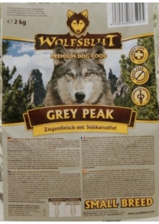 Wolfsblut Grey Peak Small Breed 2 kg