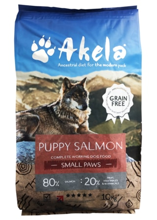 Akela 80/20 Scottish Salmon Small Paws Grain Free 1,5 kg