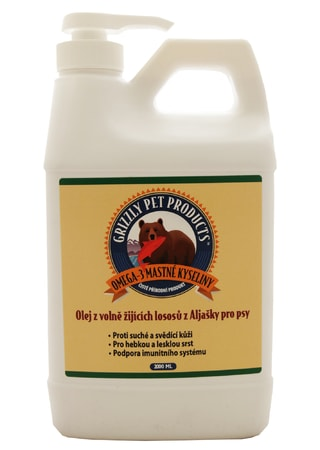 Lososový olej Grizzly Salmon Oil  2 l