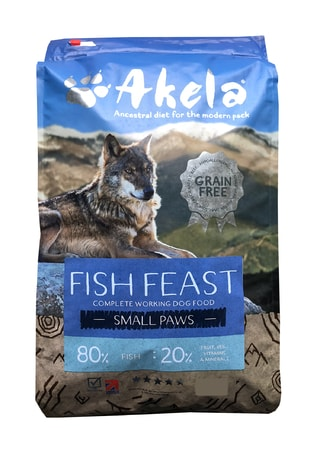 Akela 80/20 Fish Feast Grain Free Small Paws 1,5 kg