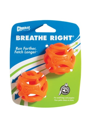Chuckit! Míčky Breathe Right Small 5 cm – 2 na kartě