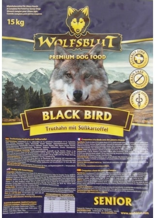 Wolfsblut Black Bird Senior 15 kg