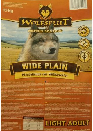 Wolfsblut Wide Plain Light 15 kg SLEVA
