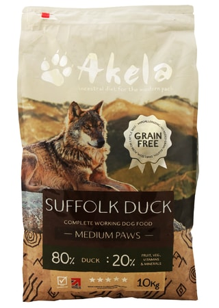 Akela 80/20 Suffolk Duck Grain Free 10 kg