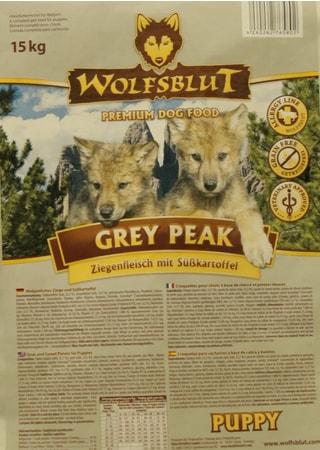 Wolfsblut Grey Peak Puppy 15 kg