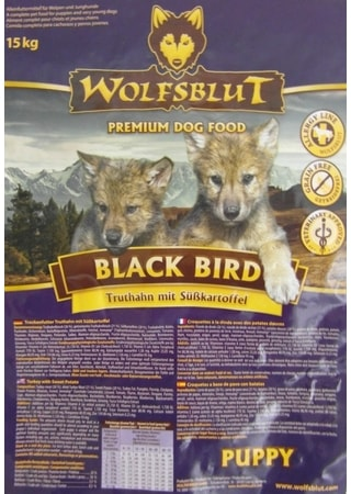 Wolfsblut Black Bird Puppy 15 kg
