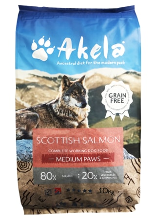 Akela 80/20 Scottish Salmon Grain Free 1,5 kg