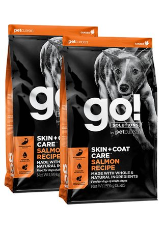 GO! Skin&Coat Salmon Dog Food 2 x 11,4kg