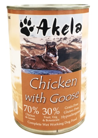 Konzerva Akela Grain Free Chicken with Goose 400 g