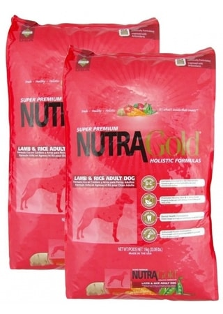 Nutra Gold Lamb & Rice Adult 2 x 15 kg