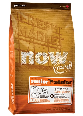 NOW! FRESH Grain Free Senior Dog 11,4 kg