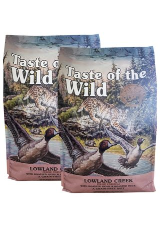 Taste of the Wild Lowland Creek 2 x 6,6 kg