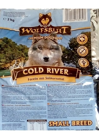 Wolfsblut Cold River Small Breed 2 kg