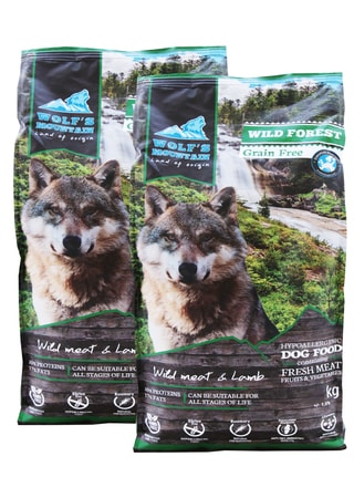 Wolf's Mountain Wild Forest 2 x 12 kg