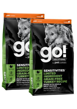 Petcurean GO! Sensitivities LID Turkey 2 x 10 kg