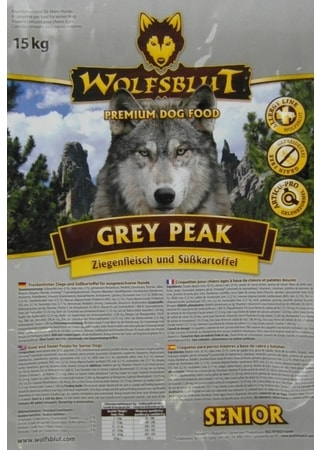 Wolfsblut Grey Peak Senior 15 kg