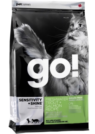 GO! Sensitive Shine Cat Trout + Salmon 3,62 kg