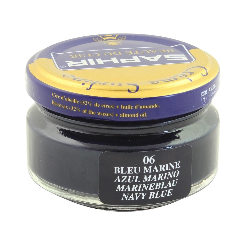 d8653ef8c Gentleman Store - Krém na topánky Saphir - námornícky modrý 50 ml ...
