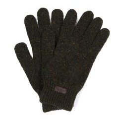 Vlnené rukavice Barbour Donegal Gloves - Dk Green