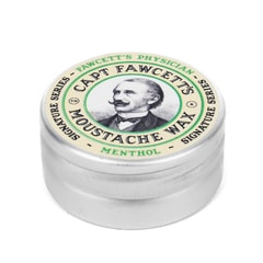 Mentolový vosk na fúzy Cpt. Fawcett Physician Wax (15 ml)