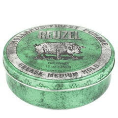 Reuzel Green Grease Medium Hold - pomáda na vlasy (340 g)