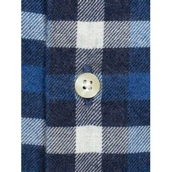 Kockovaná košeľa Barbour Country Check 3 - navy (button-down)