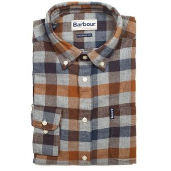 Kockovaná košeľa Barbour Country Check 5 - Copper (button-down)