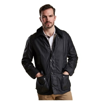 Voskovaná bunda Barbour Ashby - navy