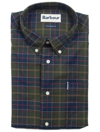 Tartanová košeľa Barbour Classic Tartan 6 (button-down)