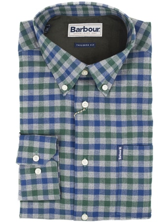 Kockovaná košeľa Barbour Country Check (button-down)