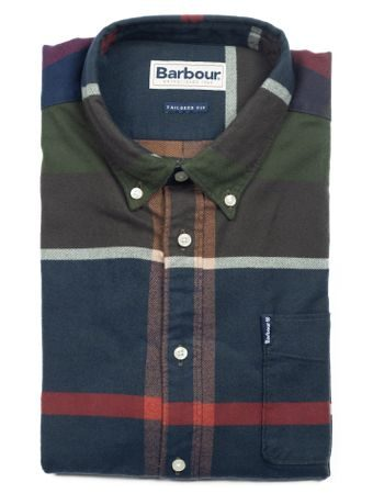Tartanová košeľa Barbour Classic Tartan 7 (button-down)
