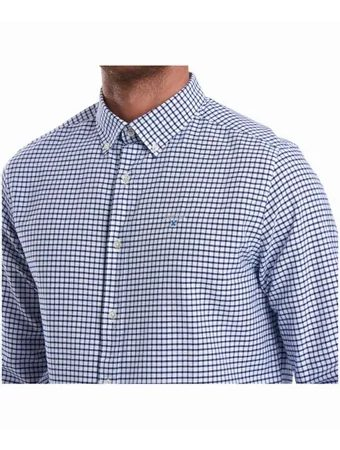Kockovaná košeľa Barbour Tatersall - Indigo (button-down)