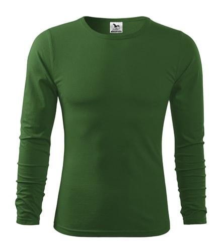 Pánské tričko s dlouhým rukávem Fit-T Long Sleeve - Lahvově zelená | S