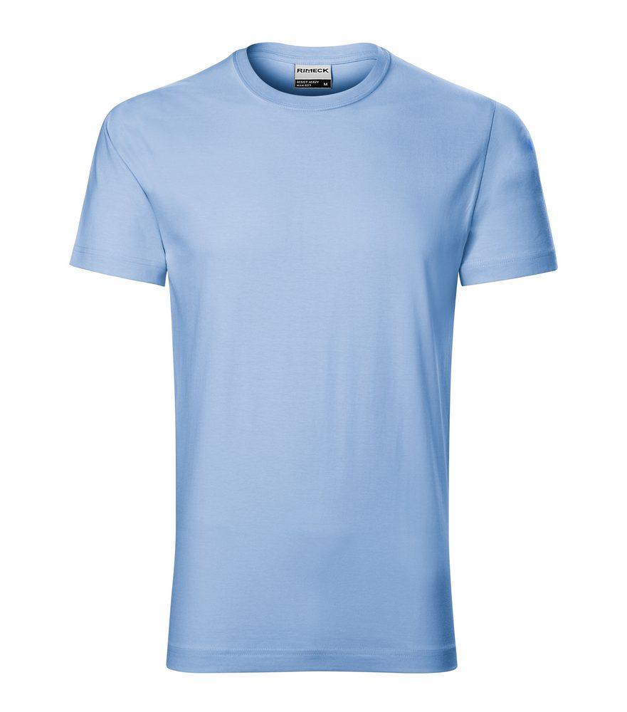 Adler (MALFINI) Pánske tričko Resist - Nebesky modrá   L