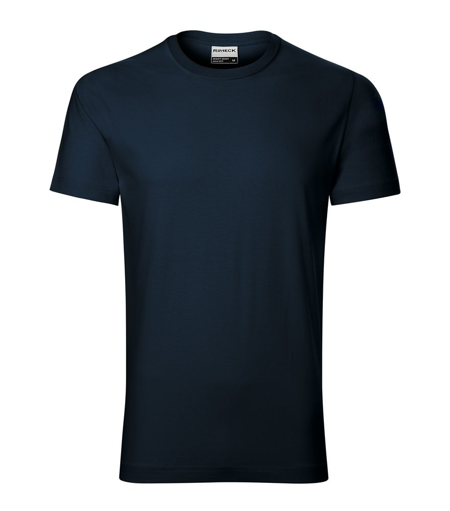 Adler Pánske tričko Resist heavy - Námořní modrá | XXXL