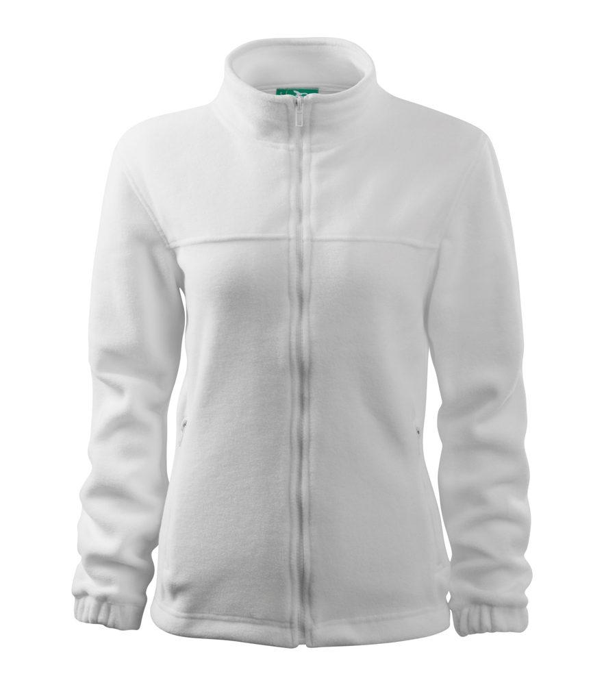 Adler (MALFINI) Dámska fleecová mikina Jacket - Bílá | XL