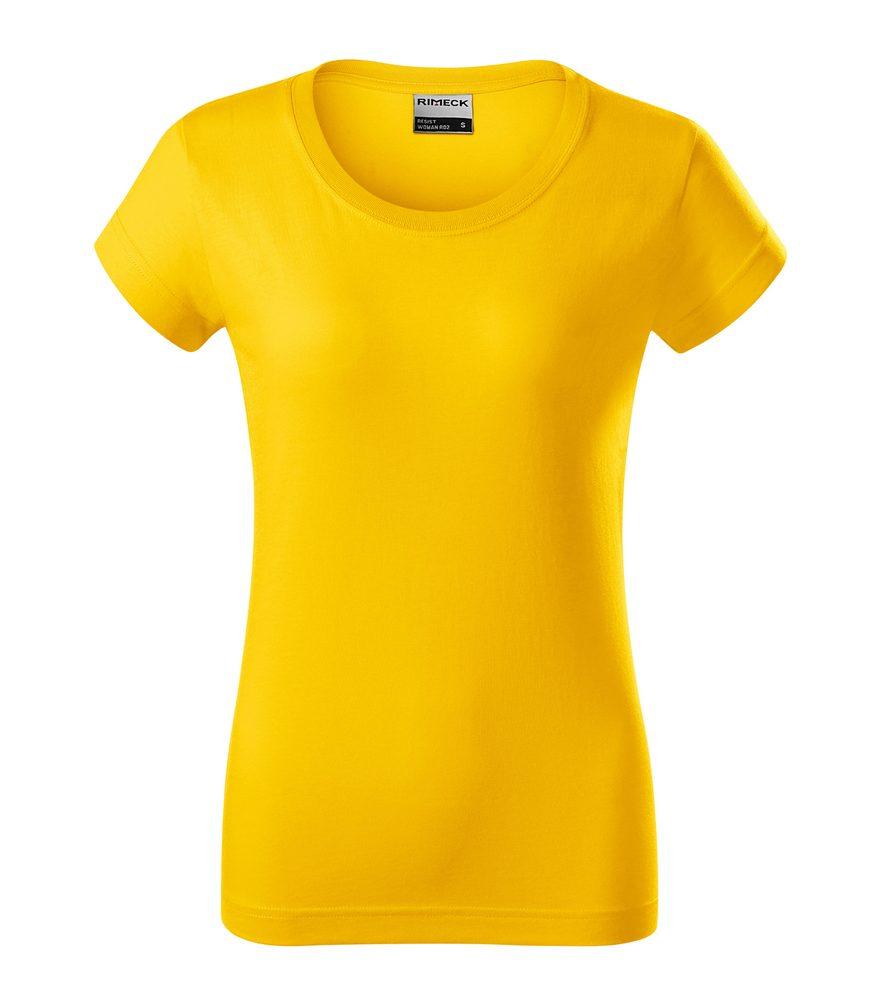 Adler (MALFINI) Dámske tričko Resist - Žlutá | L